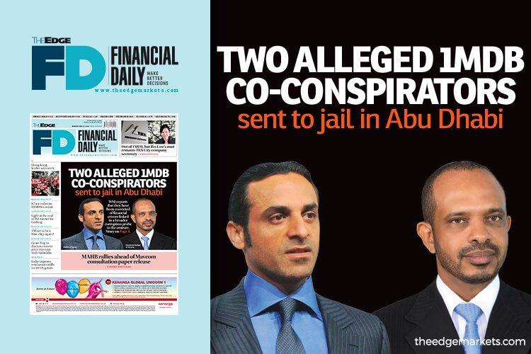 2名1MDB案共谋者被判入狱